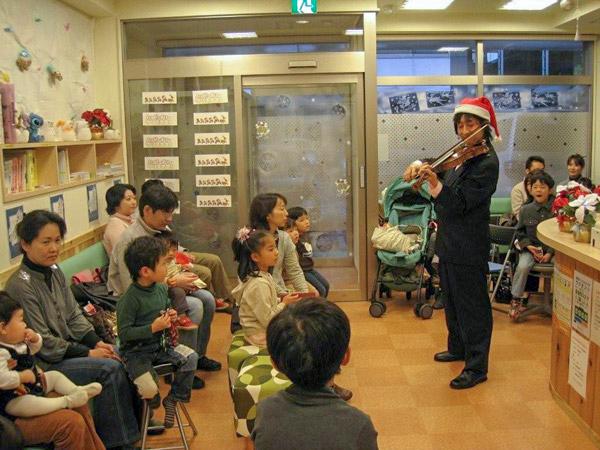 第1回クリスマス・バイオリン演奏会の写真①