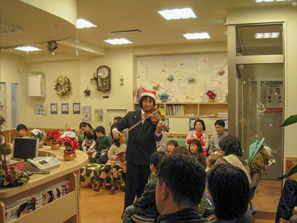 第1回クリスマス・バイオリン演奏会の写真②
